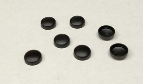 #12 Snap-Cap Black & Flat Base/Washer 25 Pack