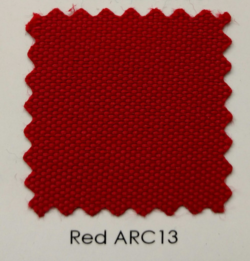 Arcadia Red Outdoor Fabric 60""