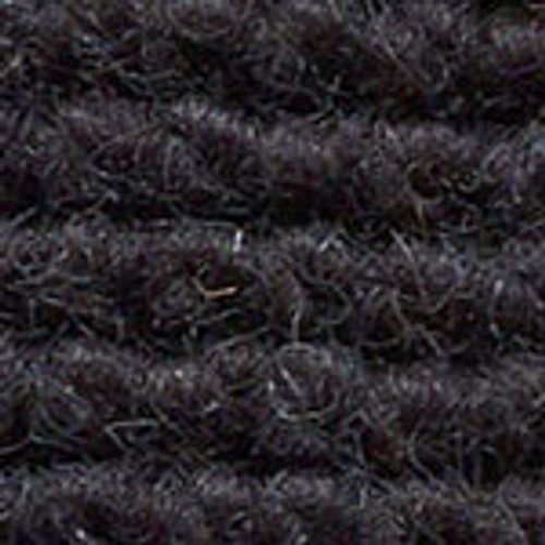 "Imported German Wool Square Weave Carpet 65"" - 315 True Black*NOTICE*"