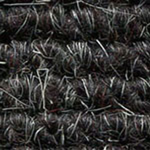"Imported German Wool Square Weave Carpet 65"" - 319 Black*NOTICE*"