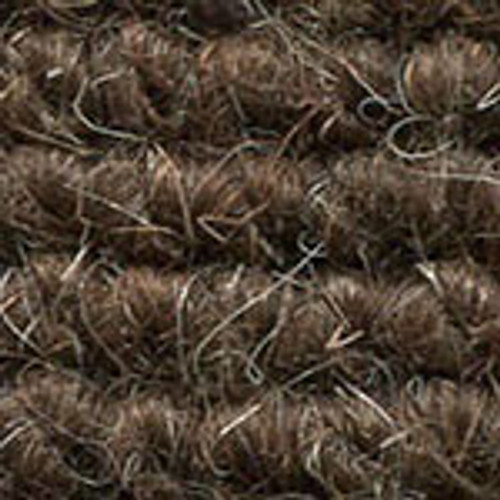 "Imported German Wool Square Weave Carpet 65"" - 503 Brown"