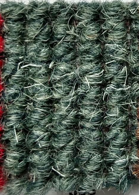 "Imported German Wool Square Weave Carpet 65"" - 320 Dark Green"