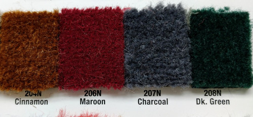 Samples available upon request! / CHARCOAL is in between Maroon & Dk Green