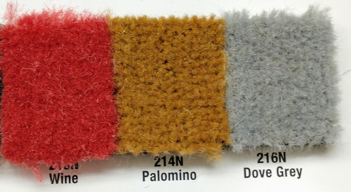 Samples available upon request! / PALOMINO in between Wine & Dove Gray