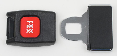 Plastic Push Button Buckle and Tongue