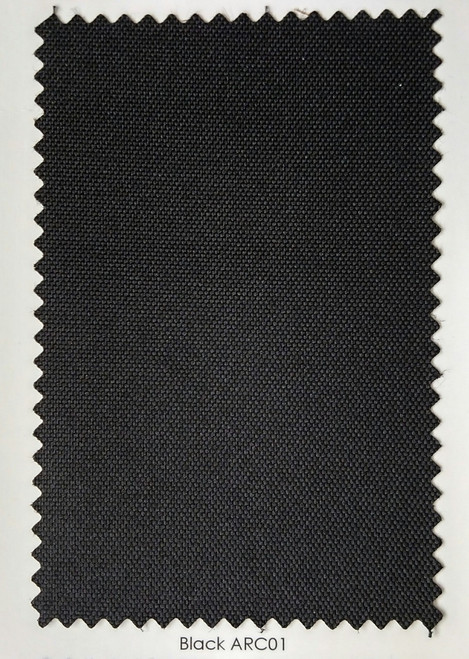 Arcaida Black Outdoor Fabric 60""