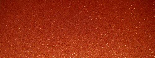 "Polaris Orange Solar Storm METALFLAKE/GLITTER Vinyl 54"""