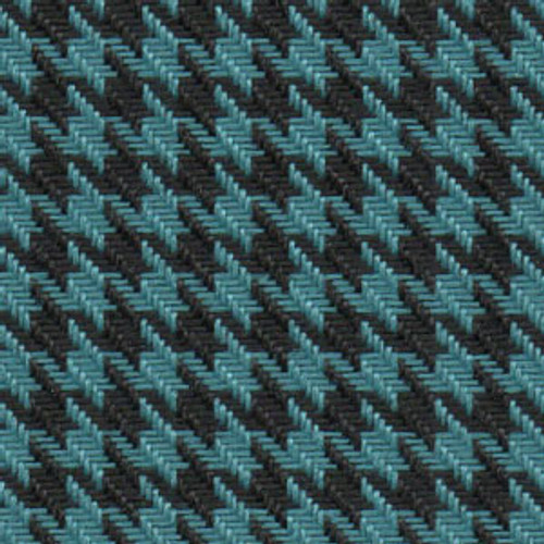 Houndstooth Blue/Black Cloth 57""
