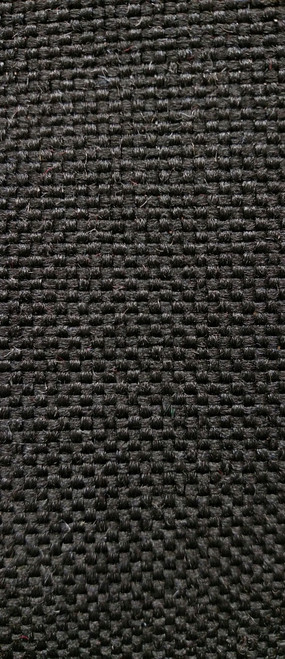 "DURAMAX Ebony (Black) Tweed Cloth 54"" - Sold by the CONTINUOUS YARD!"