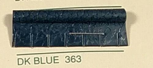Embossed Snipped Seat Welt Dark Blue