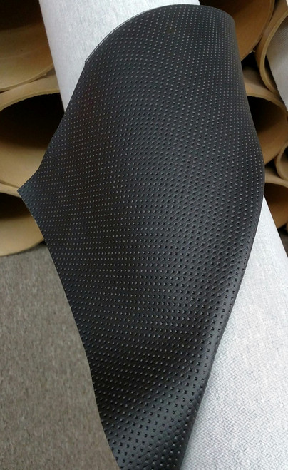 "Rosette Black Mercedes-Benz Vinyl 54"" - Sold by the CONTINUOUS YARD!"