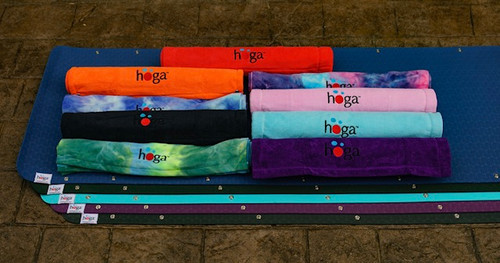 Select from 5 different colour options for your HOGA™ mat and match with your favourite HOGA™ towel - receive $10 off your set!