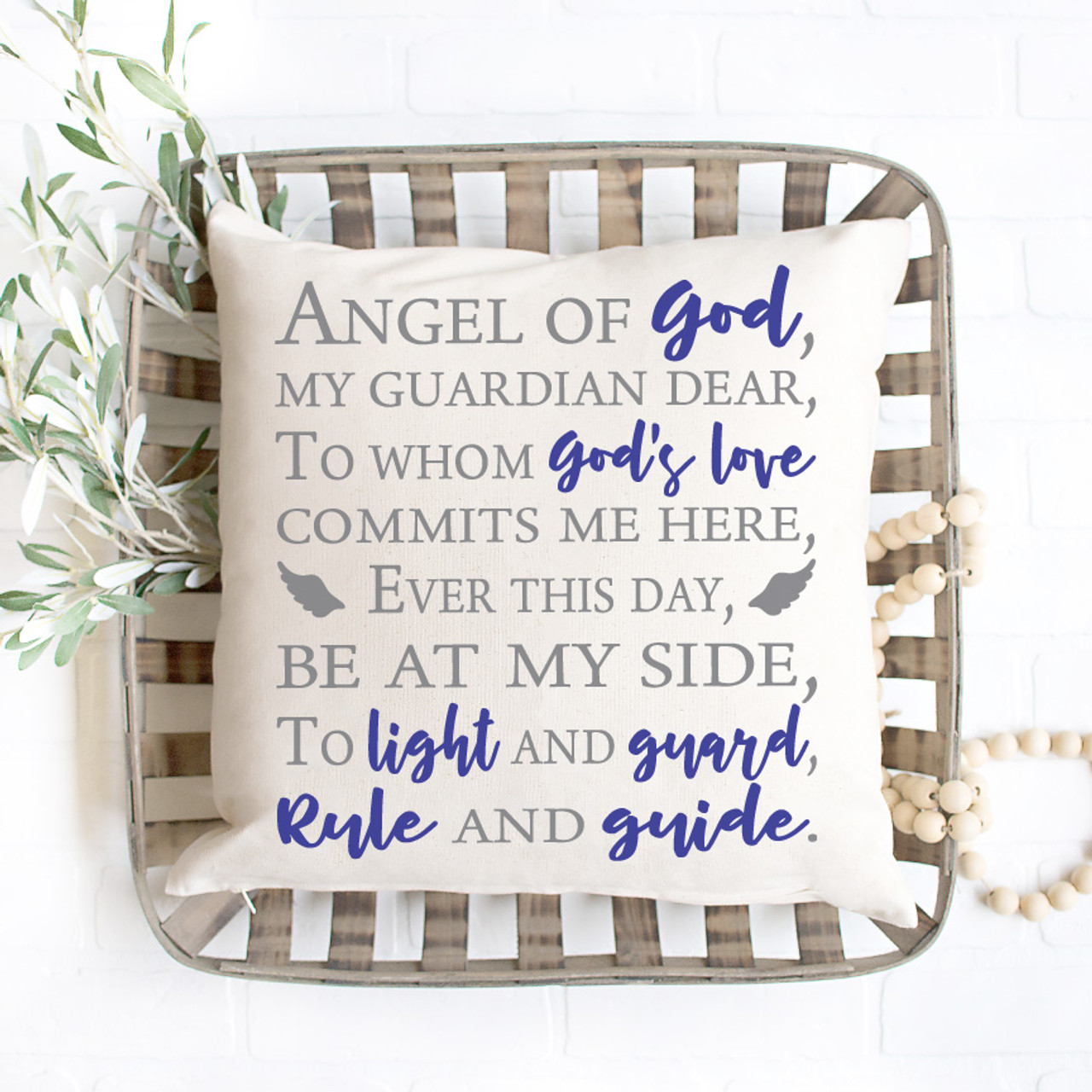 Guardian Angel Prayer Svg
