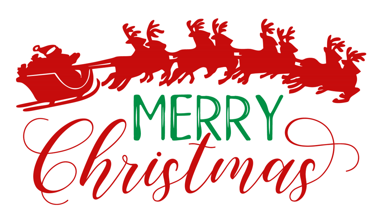 Merry Christmas Svg V2 Svg Eps Png Dxf Cut Files For Cricut And Silhouette Cameo By Savanasdesign