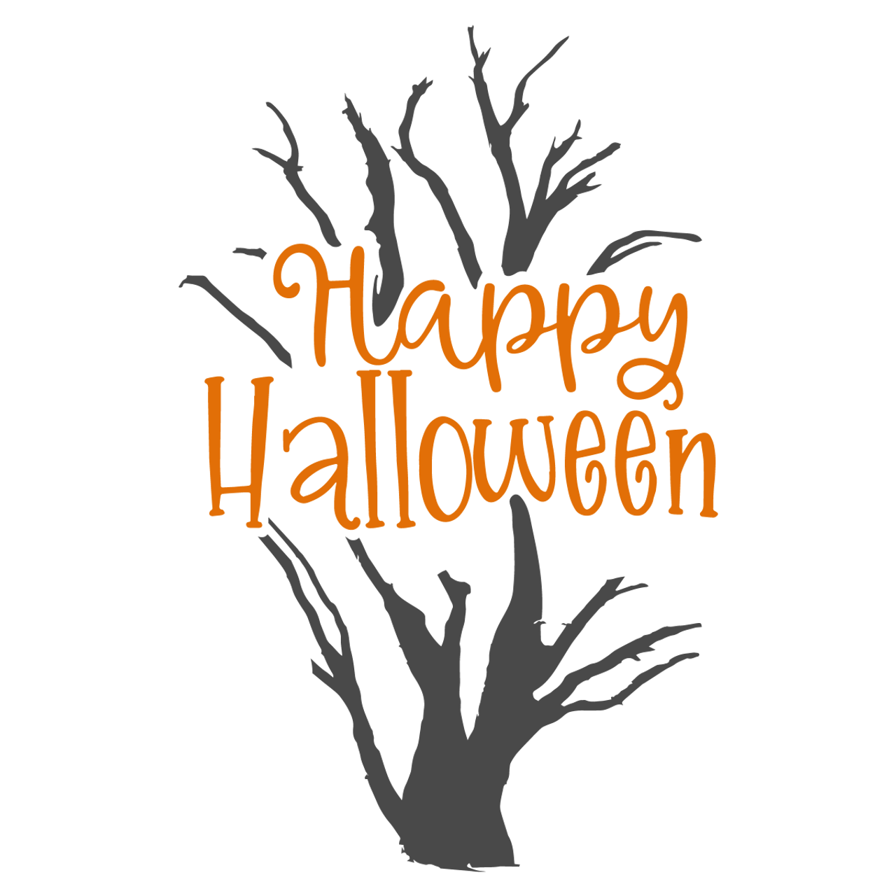 Happy Halloween Svg V3 Svg Eps Png Dxf Cut Files For Cricut And Silhouette Cameo By Savanasdesign