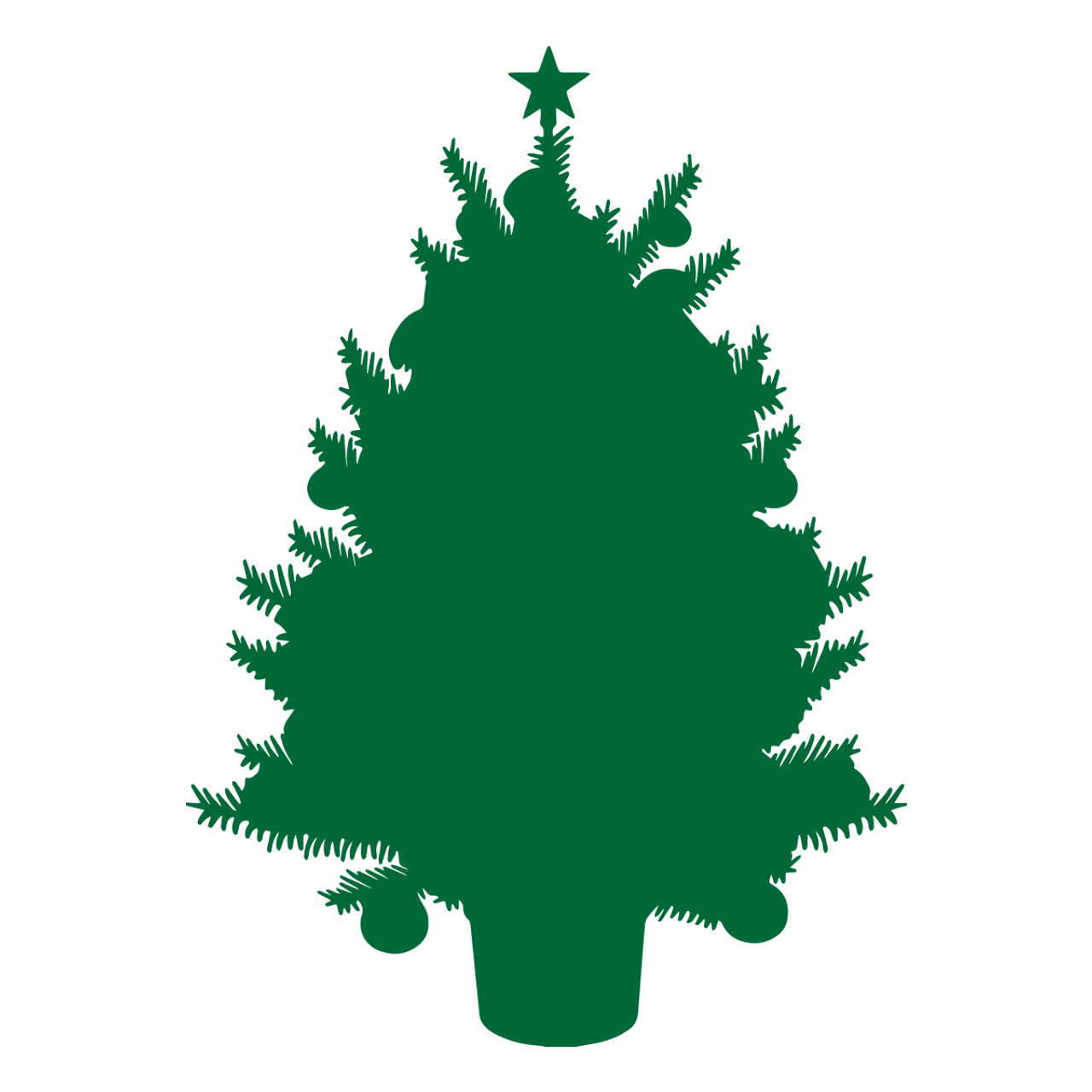 Christmas Tree Svg Svg Eps Png Dxf Cut Files For Cricut And Silhouette Cameo By Savanasdesign