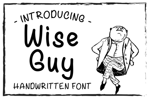 Wise Guy Font