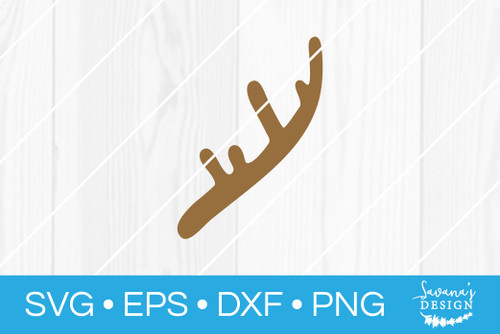 Deer Antlers Svg Bundle Svg Eps Png Dxf Cut Files For Cricut And Silhouette Cameo By Savanasdesign