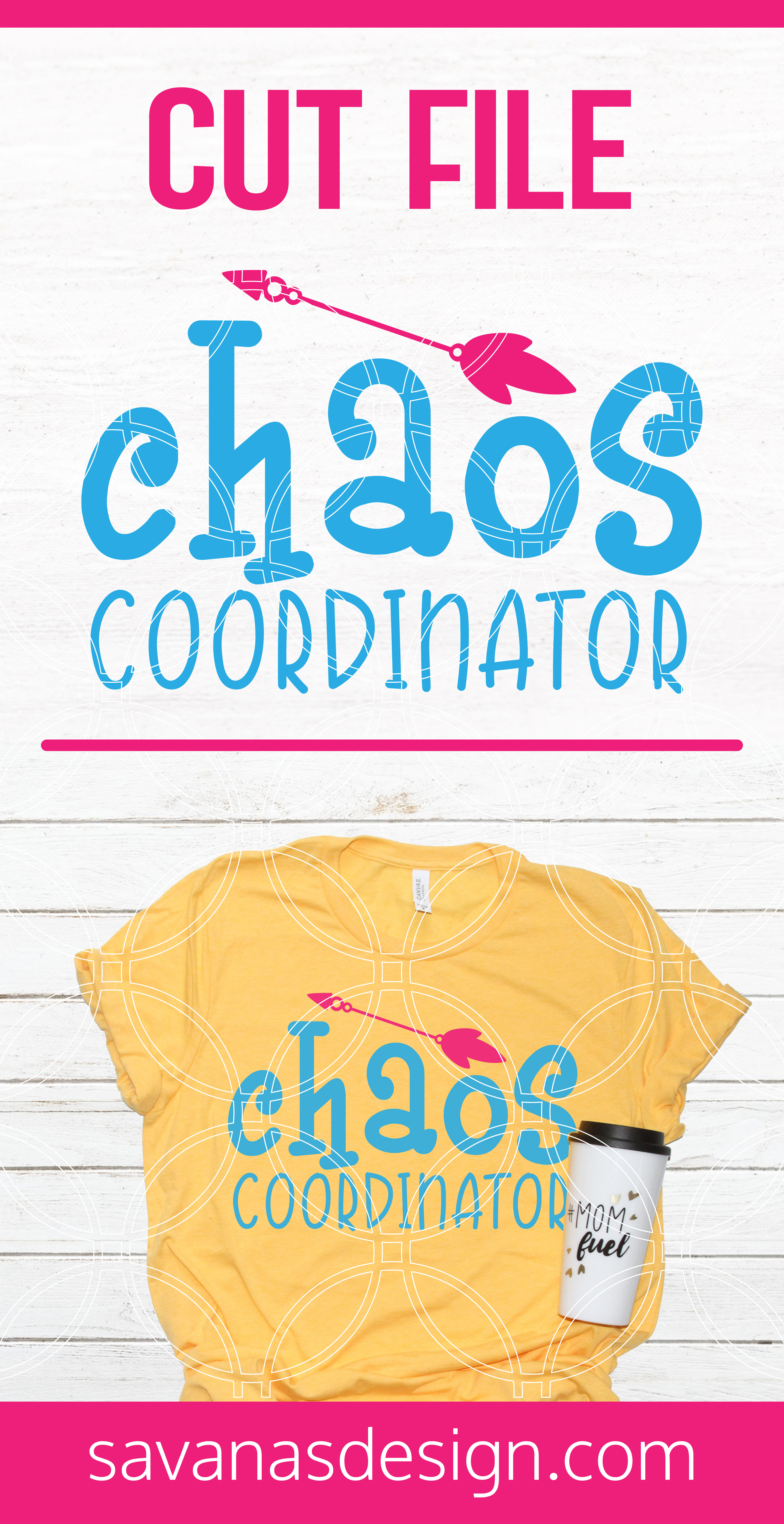 Chaos Coordinator SVG Pinterest