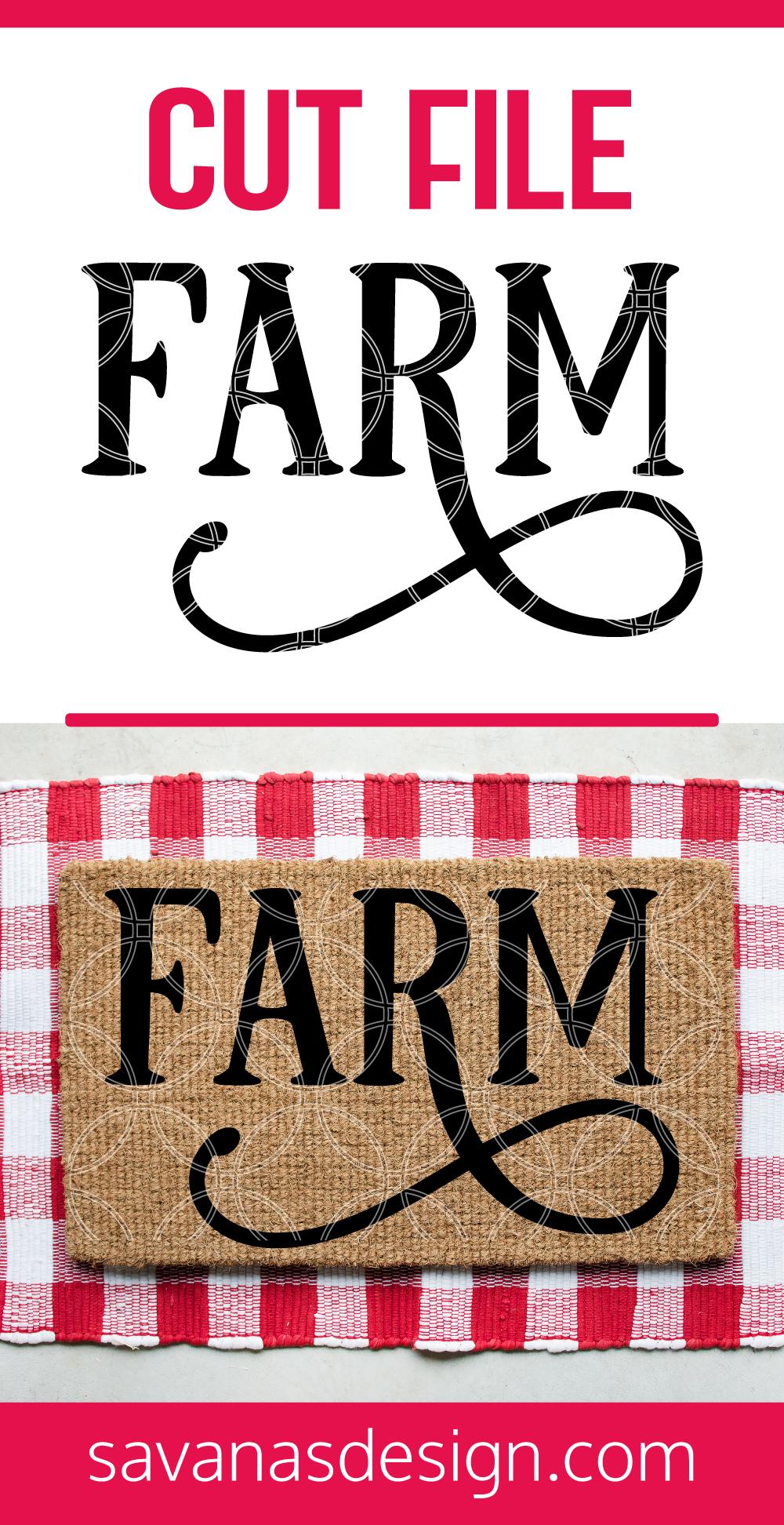 Farm SVG Pinterest