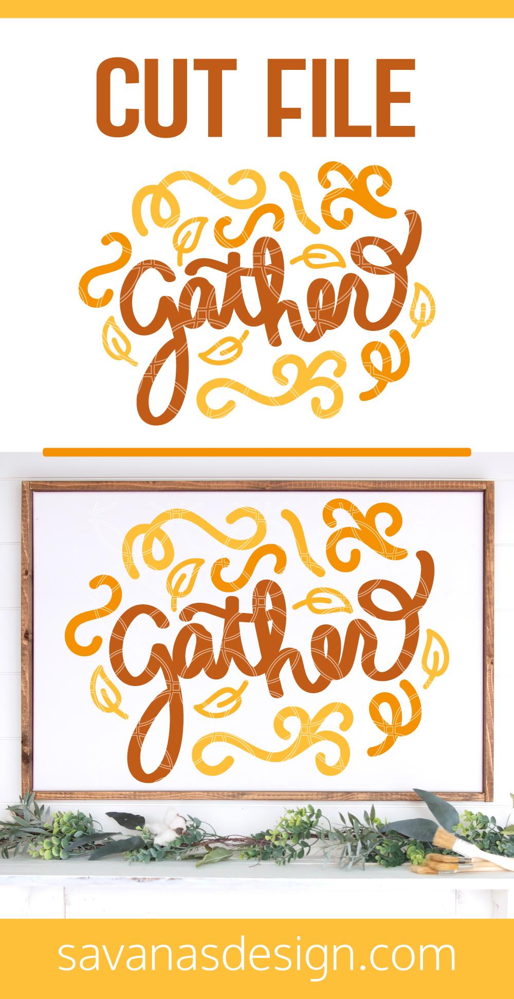Gather SVG Pinterest