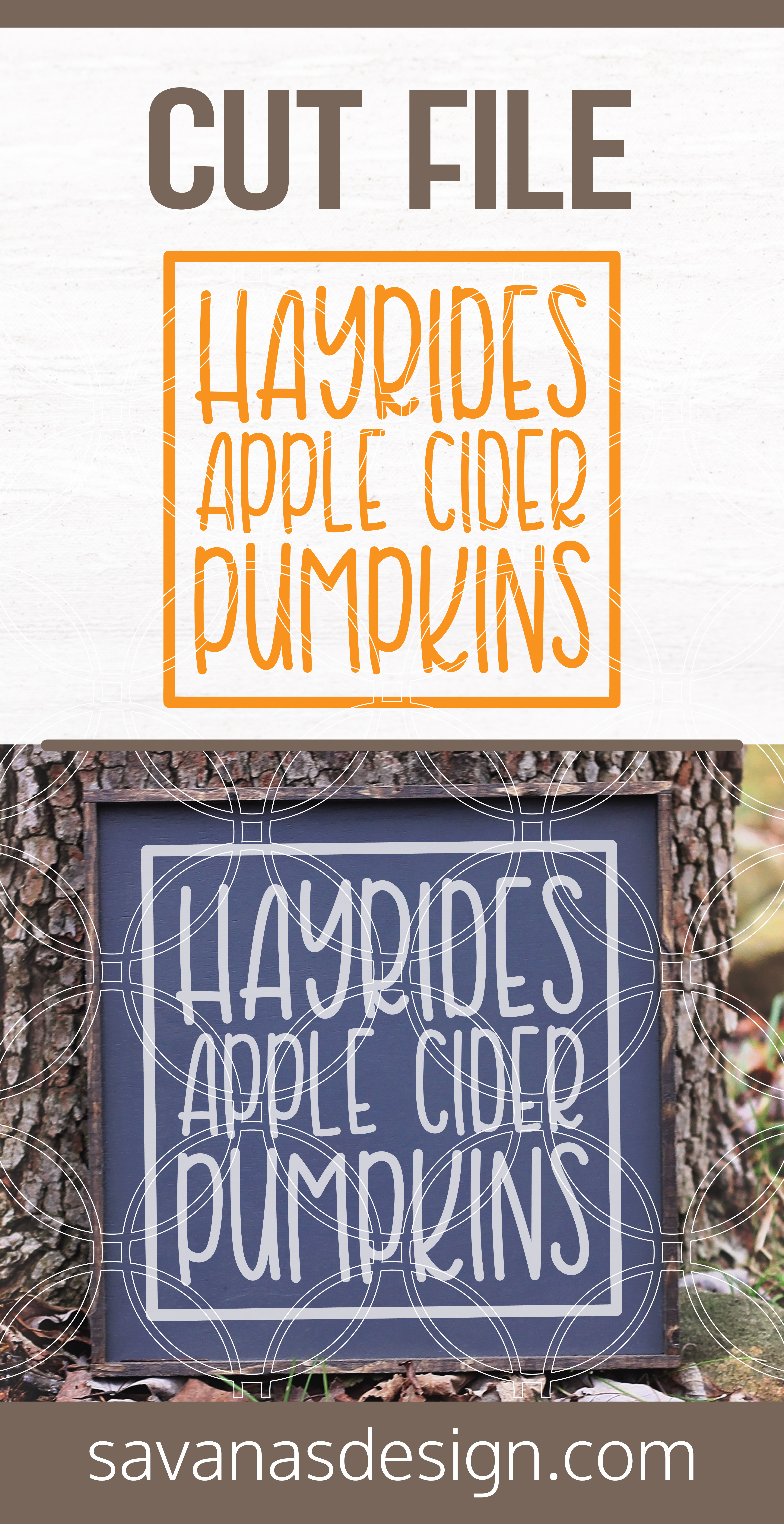 Hayrides Apple Cider Pumpkins Svg Svg Eps Png Dxf Cut Files For Cricut And Silhouette Cameo By Savanasdesign