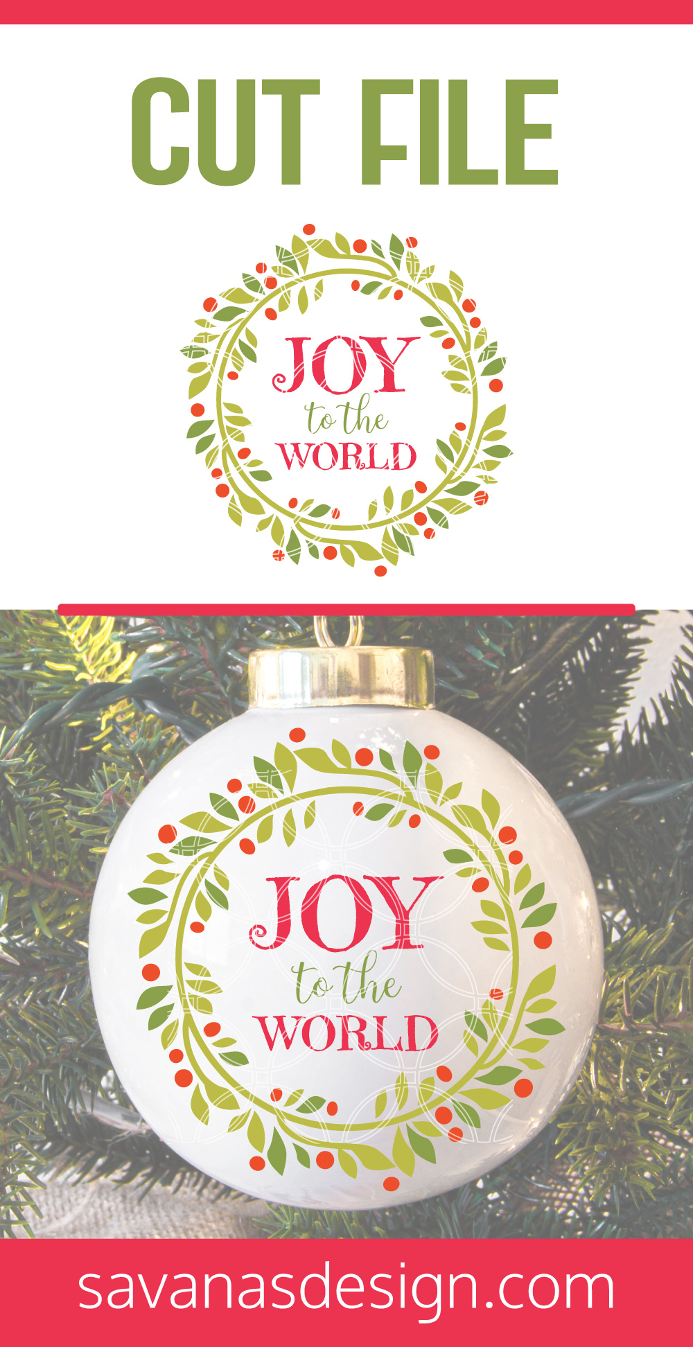 Joy To The World SVG Pinterest