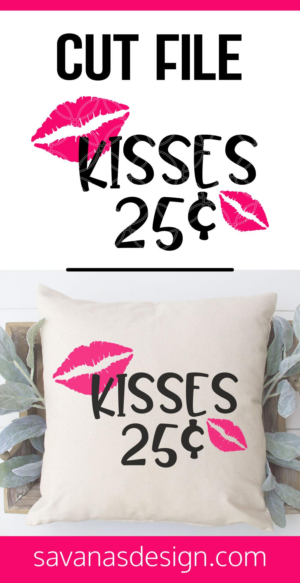 Kisses SVG