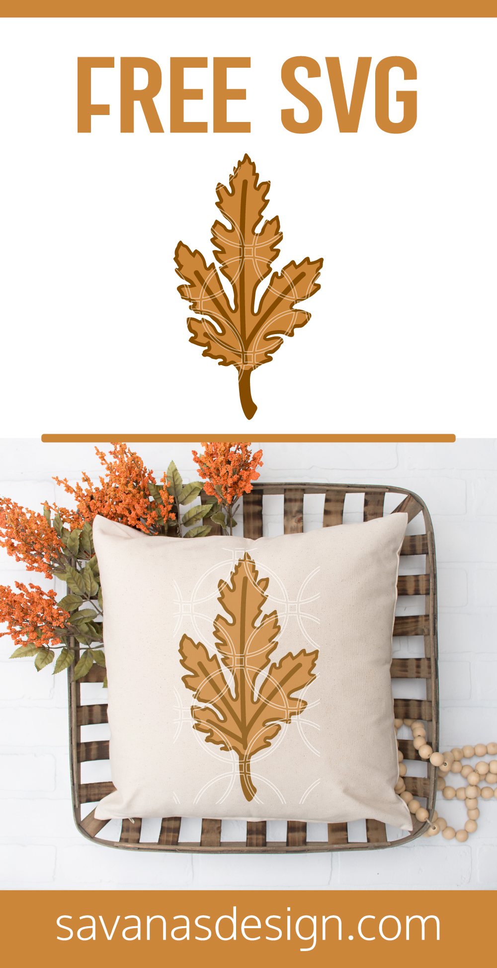 Leaf Pinterest SVG