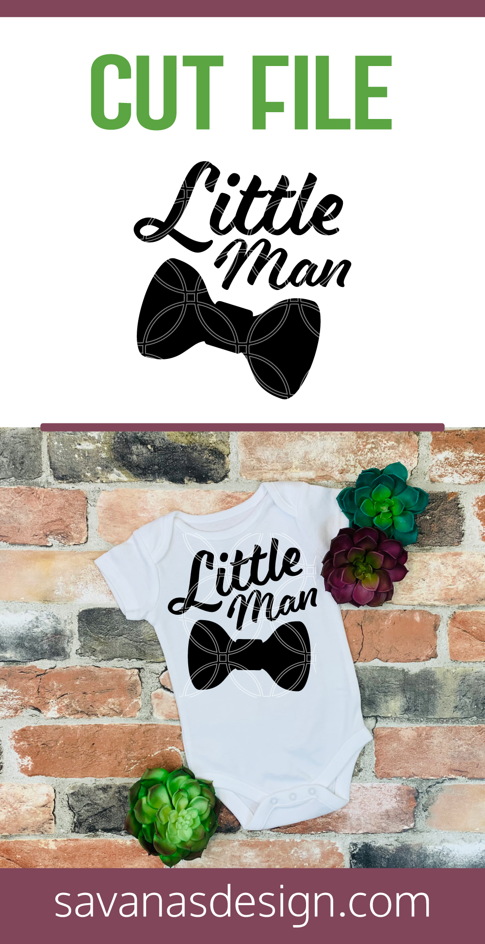 Little Man SVG Pinterest