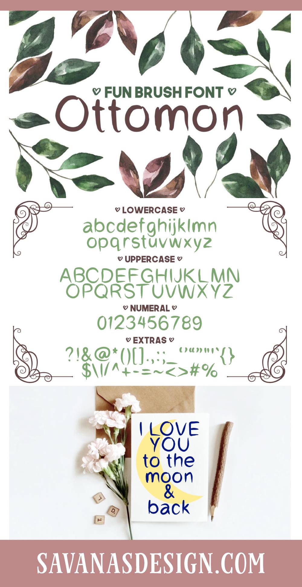 Ottomon Font
