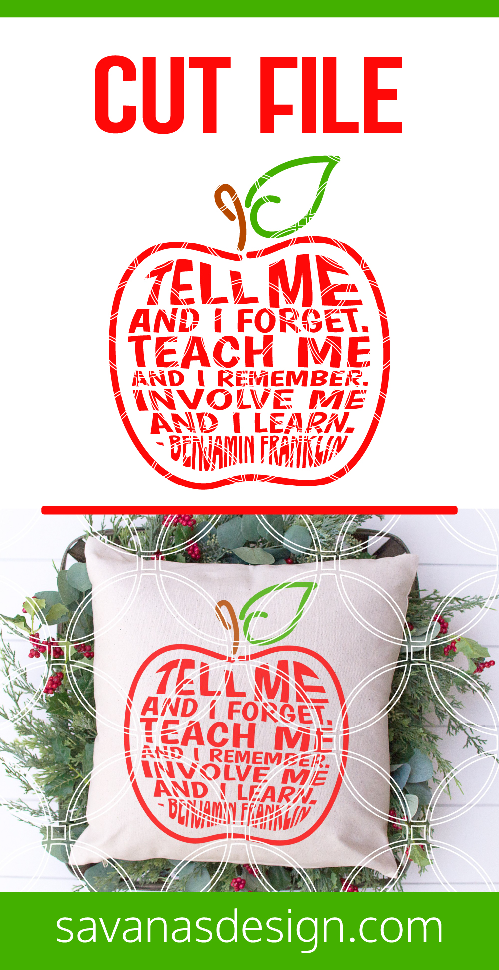 Teacher Apple Quote Pinterest