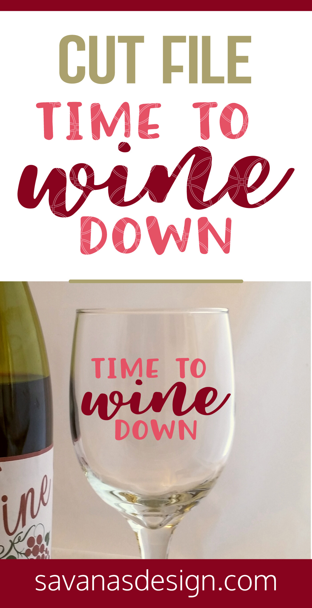 Time To Wine Down SVG