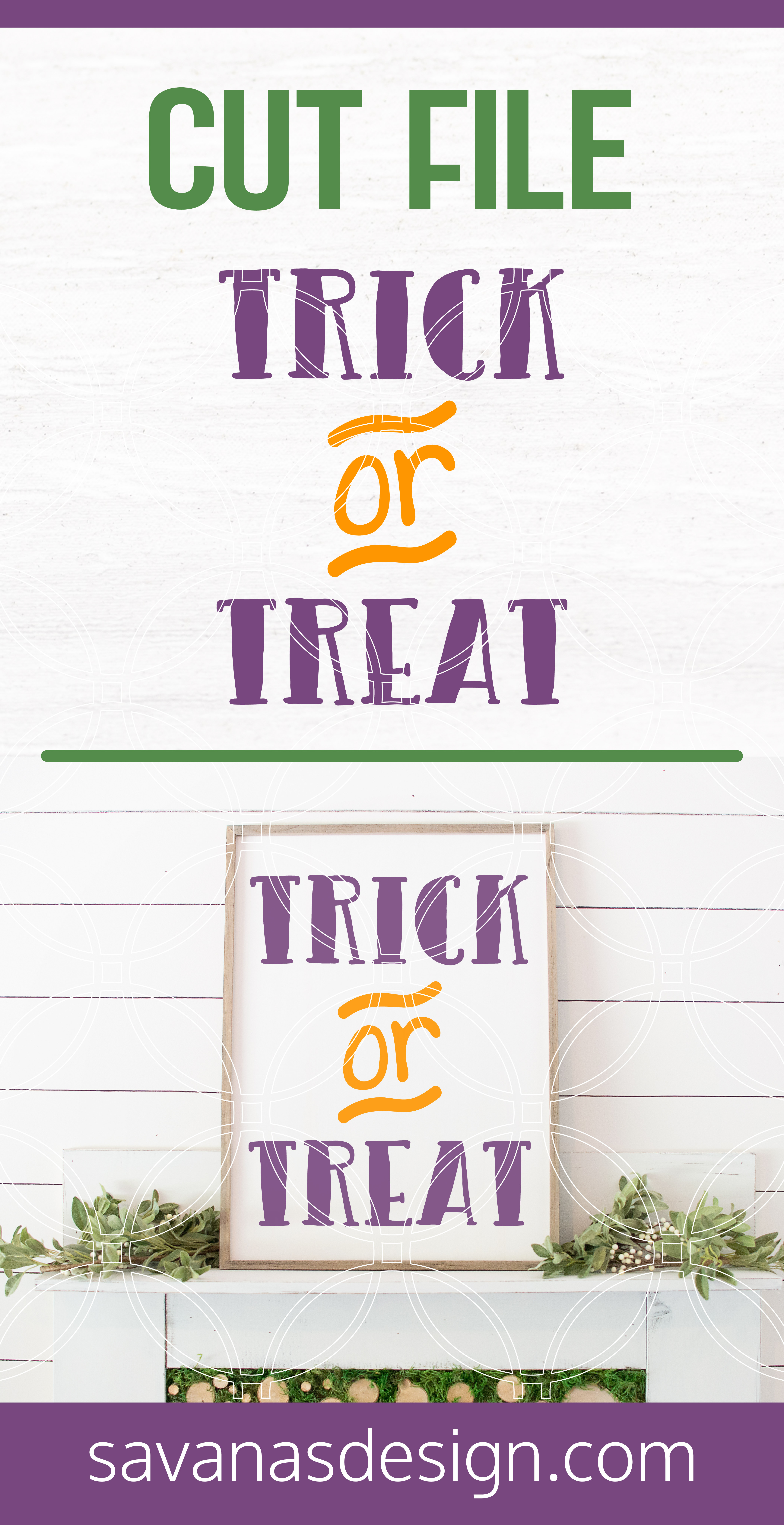 Trick or Treat SVG