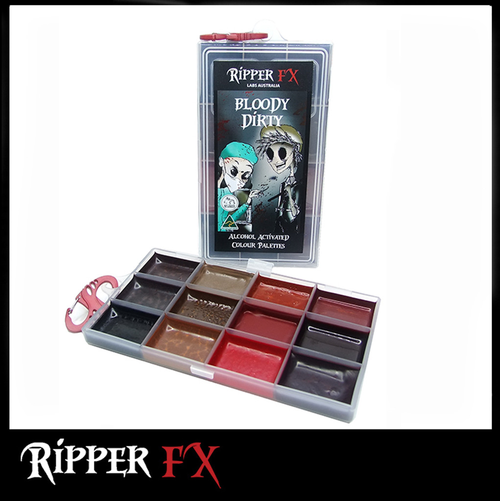 Ripper FX Bloody Dirty Alcohol Palette.