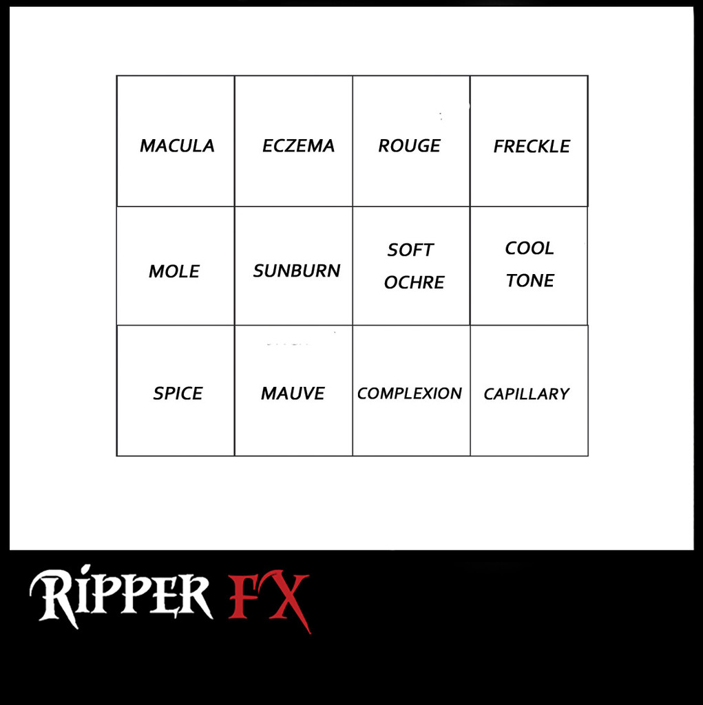 Ripper FX Appearance Alcohol Palette.