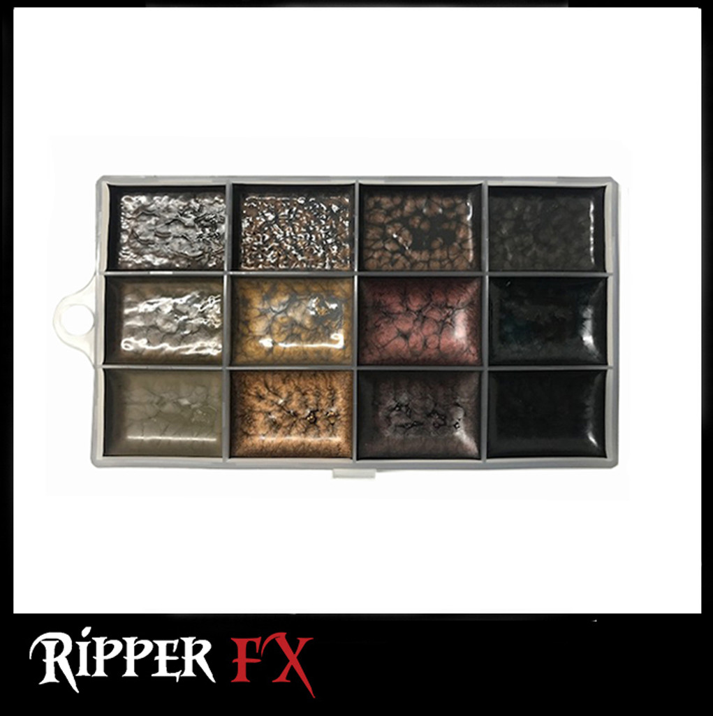 Ripper FX - Hair #2 Palette - Dark Tones