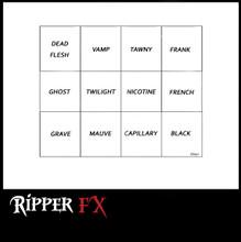 Ripper FX Ghoul Alcohol Palette