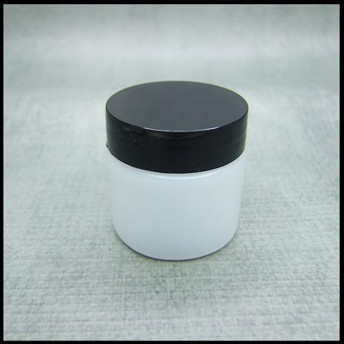 Empty 30ml Jars with Black screw lids