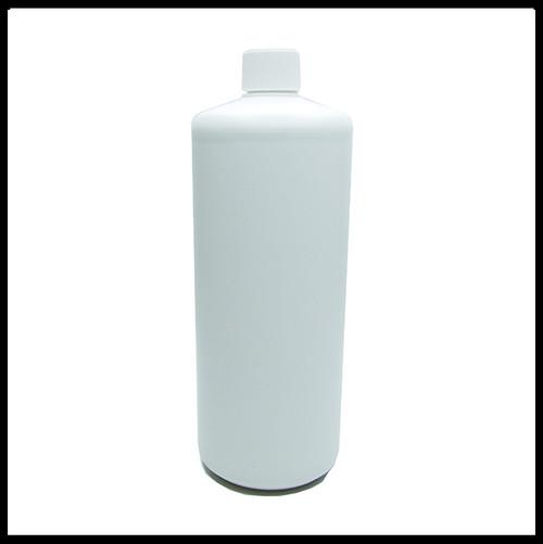 1 Litre HDPE White Empty Bottle Screw Lid