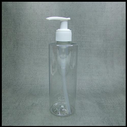 Clear PET 250ml White Lotion Pump