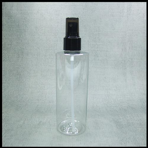 Clear PET 250ml Black Spray