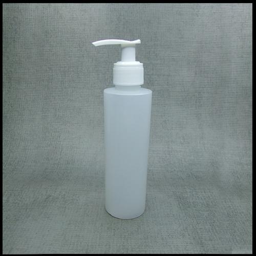 HDPE Natural 250ml White Lotion Pump