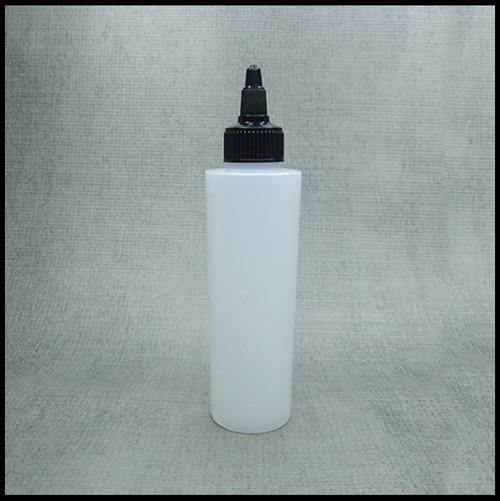 HDPE Natural 250ml Twist Top Bottle