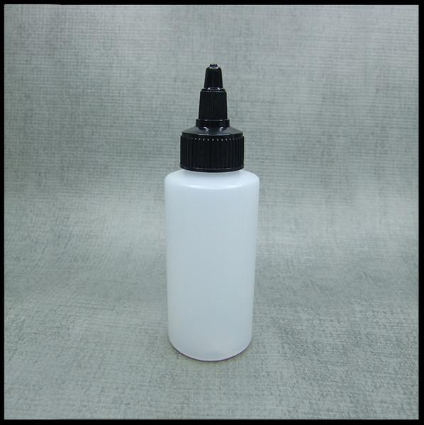 HDPE 50ml Hard Plastic Twist Top Bottle