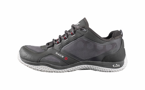 Gill Race Trainers in Graphite - Side