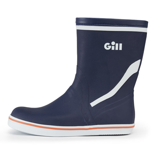Short Cruising Boots in Dark Blue