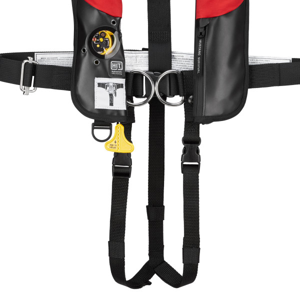 Leg Strap Assembly For Inflatable PFD