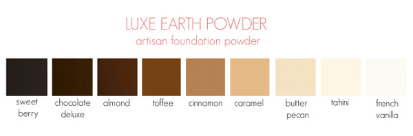Individual Luxe Earth Powder Samples