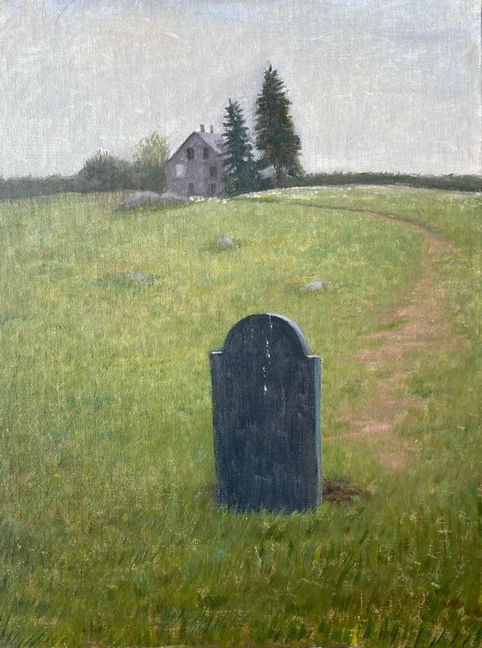 Wyeth's Headstone at Olson House